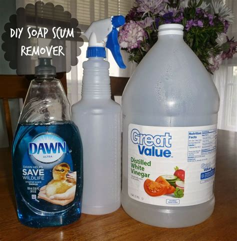 1000 ideas about soap scum removal on
