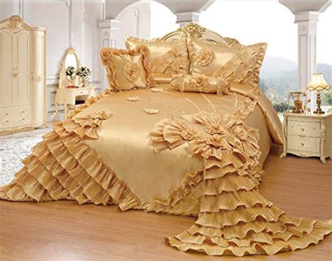 floral quilt bedding 11 luxurious gold bedding sets