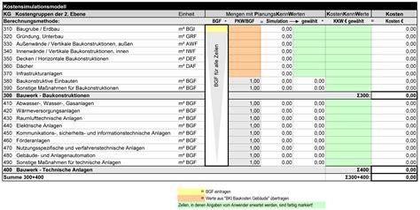 kostensimulationsmodell bki