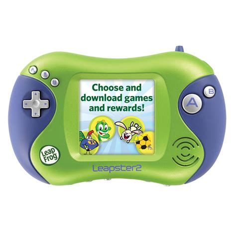 leapfrog console leapfrog leapster2 learning system green