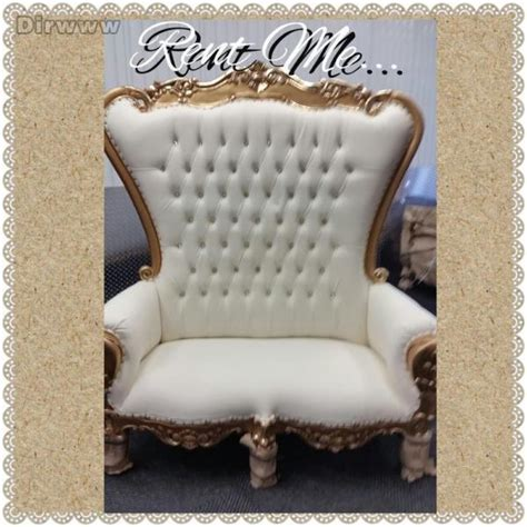 throne king chair rentals