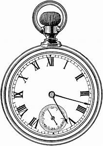 Pocket Watch | ClipArt ETC