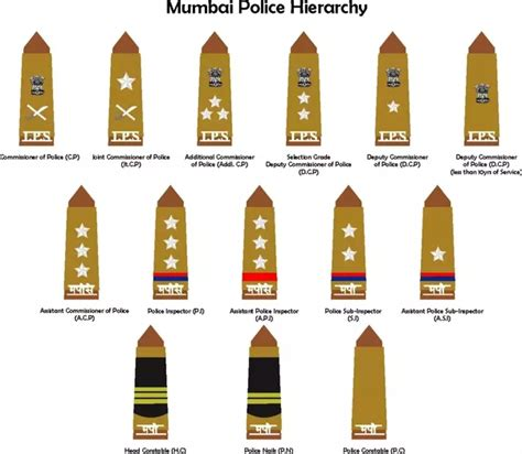 Dib Full Form In Police by What Is The Hierarchy Of Cops In The Indian Police Quora