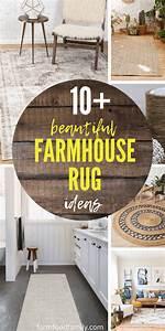 10, Beautiful, Farmhouse, Rug, Ideas, And, Designs