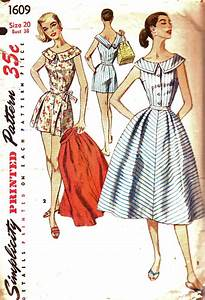 Simplicity 1609 - Vintage Sewing Patterns