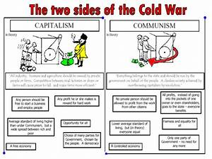 How did capitalism and communism clash
