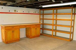 Pdf diy how to build wood garage shelves download wood for Wooden garage storage cabinets plans