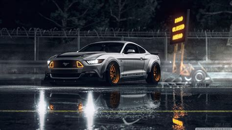Ford Mustang, Car, Street Wallpapers Hd / Desktop And