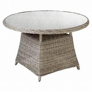 Table De Jardin Ronde : table de jardin ronde susan maisons du monde ~ Teatrodelosmanantiales.com Idées de Décoration