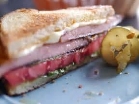 carl 39 s fried bologna sandwich recipe food network
