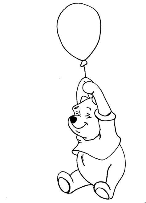 winnie puh mit luftballon ausmalbild malvorlage sonstiges