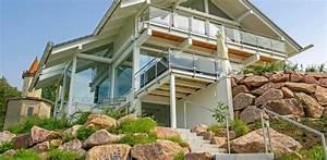 Schlüsselfertige Häuser Mit Grundstück : fertighaus bauen am hang mit fertigkeller kein problem ~ Sanjose-hotels-ca.com Haus und Dekorationen