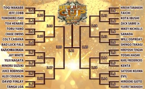 New Japan Cup Fan Vote – Fan Of Everything