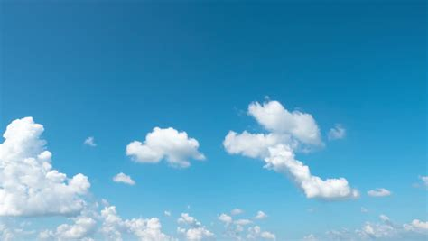 time lapse  blue sky stock footage video  royalty
