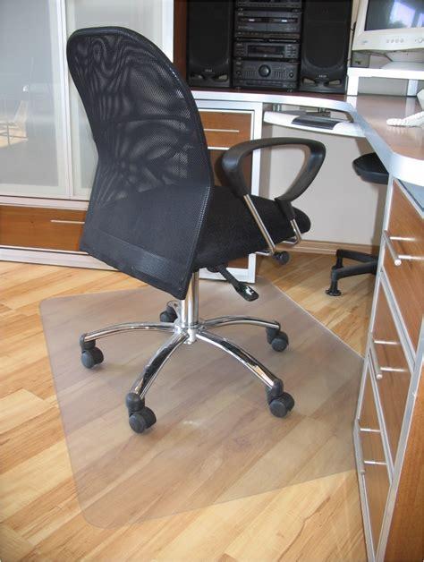 prosource 48 quot x 36 quot clear rectangular pvc office chair