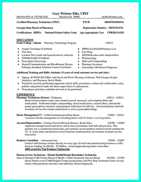 Certified Pharmacy Technician Resume by What Objectives To Mention In Certified Pharmacy