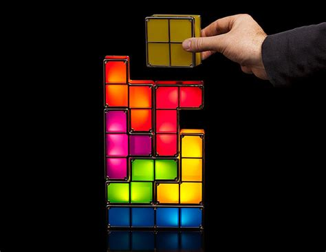 Tetris Stackable Led Desk L India by Tetris Stackable Led Desk L The Green