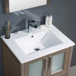 bathroom vanities and sinks at menards fresca torino 24 quot gray oak modern bathroom vanity w