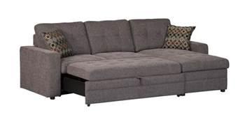Sectional Sleeper Sofa coaster company gus grey small sleeper sectional sofa