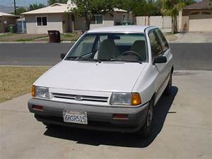 1988 Ford Festiva L  5 Speed Runs Great Well Maintained