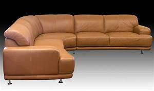 W schillig brown leather sectional sofa for W schillig sectional sofa