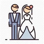 Icon Bride Groom Marriage Marry Icons Romance