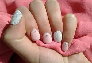 Deco Rose Pale : naildine gel color sur des ongles naturels ~ Teatrodelosmanantiales.com Idées de Décoration