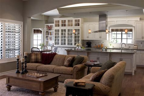 Decorating Ideas For Open Living Room And Kitchen - how to set up a perfect kitchen layout virily