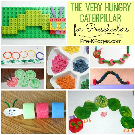 25 activities for the hungry caterpillar pre k pages 889 | The Very Hungry Caterpillar Activities for Preschoolers