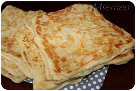 astuces cuisine facile la recette des msemen avec astuce et methode miss