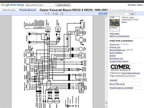 Wiring Diagram Bayou Page Atvconnection