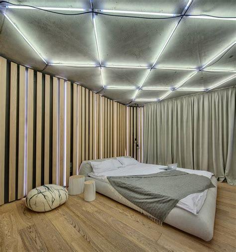 faux plafond chambre faux plafond moderne dans la chambre à coucher et le salon