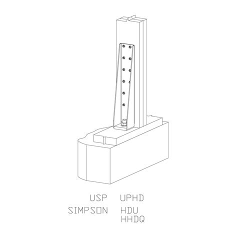 uphd holdowns u s usp structural connectors