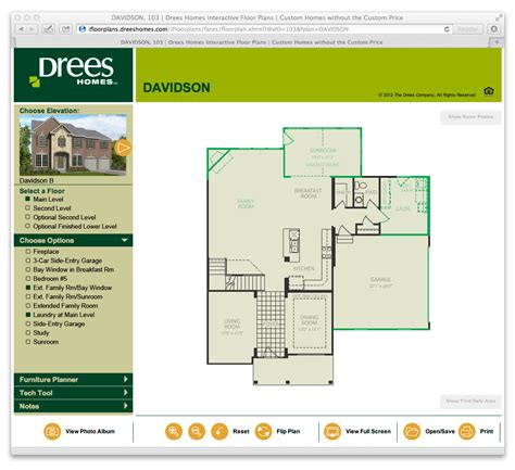 drees interactive floor plans interactive floor plans drees homes a custom home builder