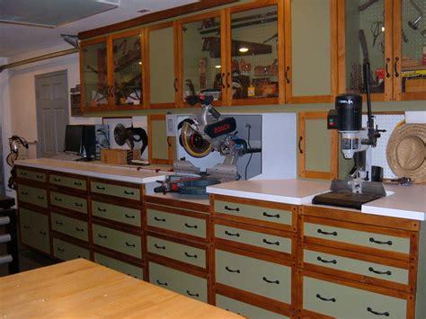 wall workshop woodworking plan   standard garage
