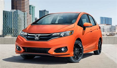 2019 Honda Fit  Changes And Specs  2018  2019 Honda Car