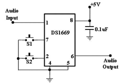 Digital Potentiometer Circuit Diagram Electronic