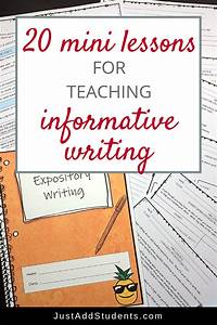 Informative  Explanatory Writing  Expository  Lessons