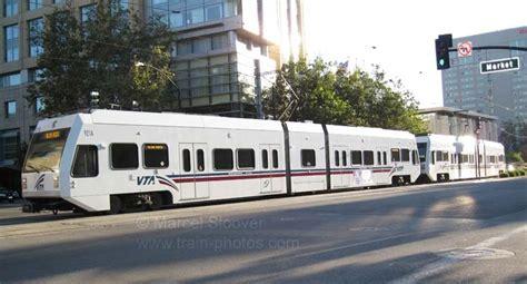 vta light rail photos vta light rail san jose