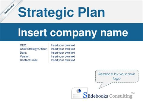 Contact Strategy Template by Simple Strategic Plan Template By Ex Mckinsey Consultants