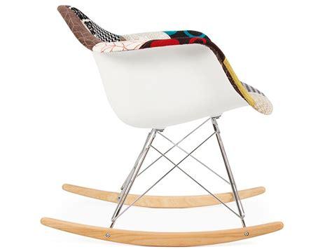 Eames Rocking Chair Rar- Patchwork