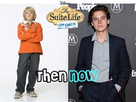 disney channel stars then and now 2016 suite life youtube