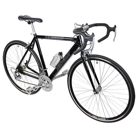black cycling new black 21 speed aluminum road bike racing bicycle 54cm
