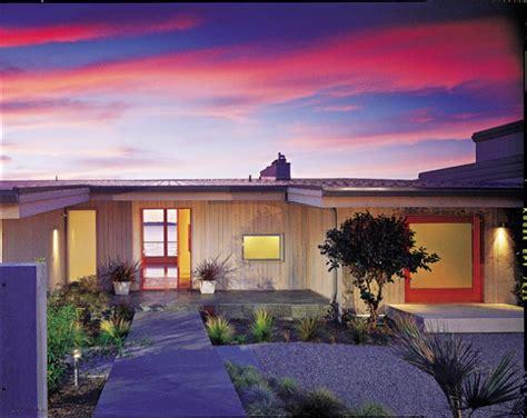 spectacular mid century modern exterior designs bring