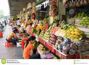 Fruit Stalls At Market Editorial Photography - Image: 19128877