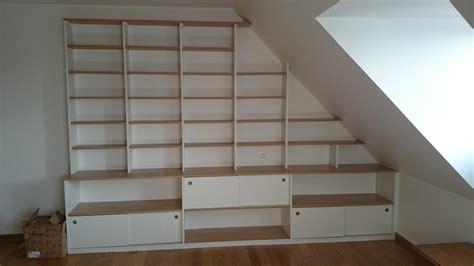 placard chambre sur mesure réalisation de bibliothèques sur mesure droite sous pente