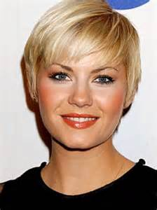 Short Layered Hairstyle for Thin Fine Hair