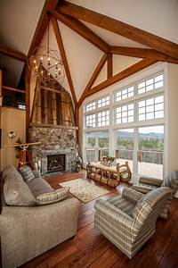 Traditional Cozy House Built To Look Like An Old Barn
