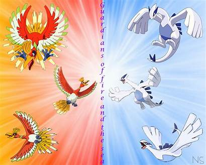 Pokemon Oh Ho Lugia Legendary Epic Wallpapers