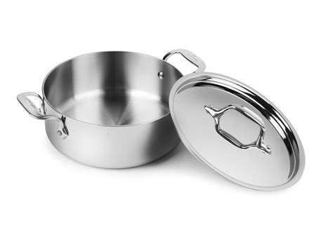 clad  stainless casserole  quart cutlery